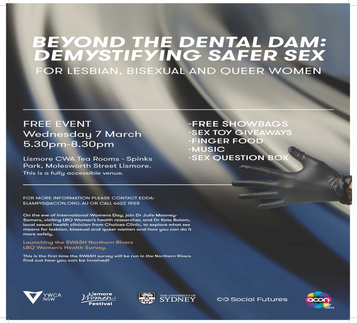 Beyond The Dental Dam Poster